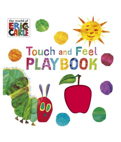 The World of Eric Carle Touch and Feel Playbook - front cover