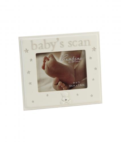 Baby's Scan Frame, Baby Gift, Cancer Research UK
