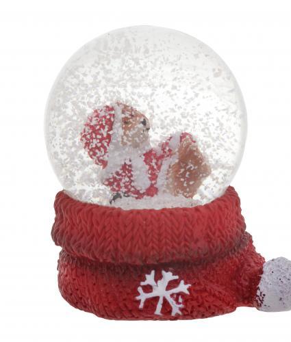 Mini Bear Water Globe Cancer Research UK Christmas Gift