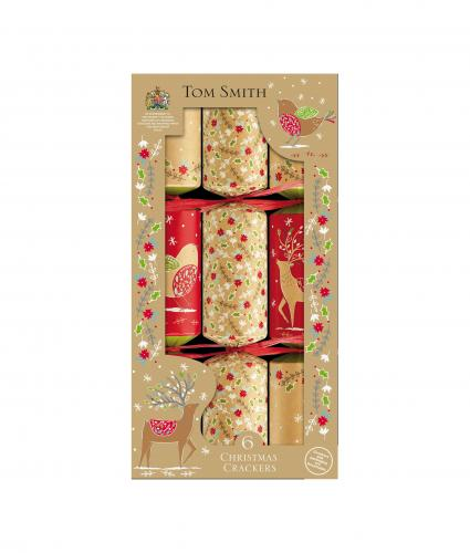 Tom Smith Crackers with Placecards, Pack of 6