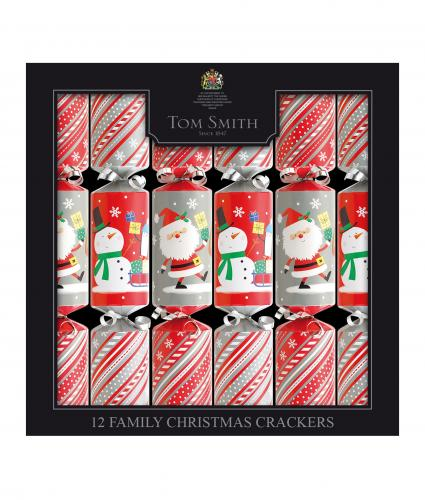 Tom Smith Family Fun Crackers, Pack of 12