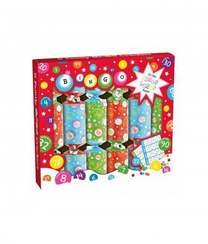 Bingo Crackers, Pack of 6