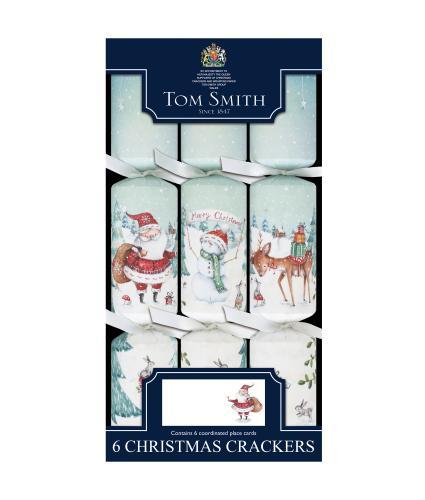 Tom Smith 6 Magical Santa Dinner Cube Christmas Crackers