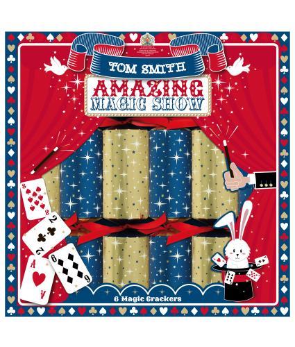 Tom Smith 6 Magic Christmas Crackers