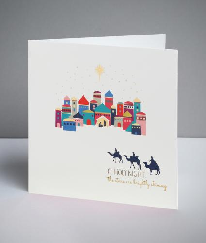 Holy Night Christmas Cards, Pack of 10