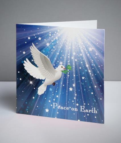 Soaring Dove Christmas Cards, Pack of 10