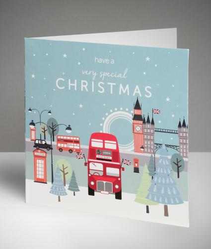 Capital Christmas Cards, Pack of 20