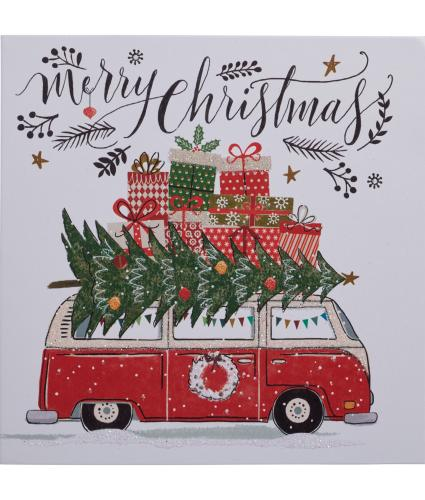 All Packed Up Christmas Cards - Pack of 10