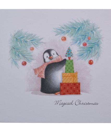 Percy the Penguin Christmas Cards - Pack of 10