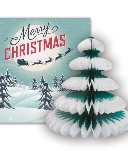 Pulp Pop Up Tree Christmas Card