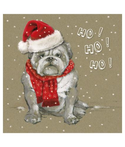 Ho Ho Ho Christmas Cards - Pack of 10