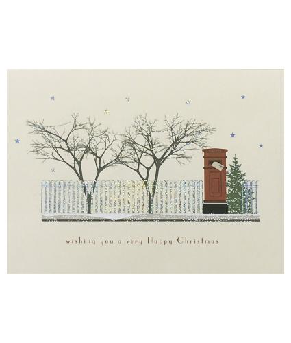 Door and Postbox Duo Christmas Cards - Pack of 16