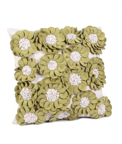 Cancer Research UK, Sadie Green Flower Cushion