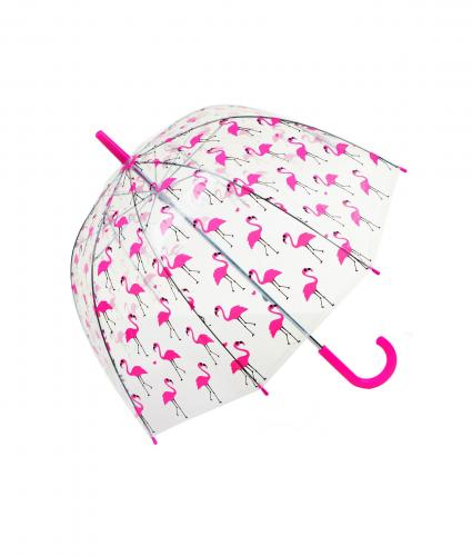 Flamingo Dome Umbrella, Home & Accessories, Cancer Research UK