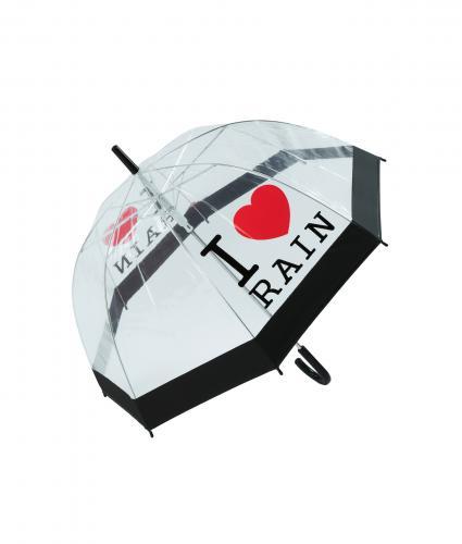 I Love Rain Dome Umbrella, Home & Accessories, Cancer Research UK