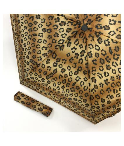 Totes Leopard Umbrella