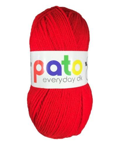 Cygnet Pato Everyday DK Knitting Yarn in Red 994