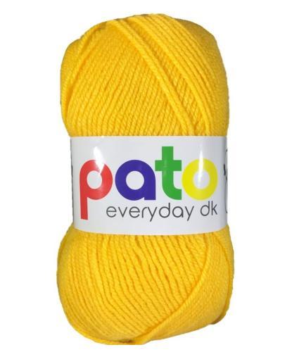 Cygnet Pato Everyday DK Knitting Yarn in Yellow 996