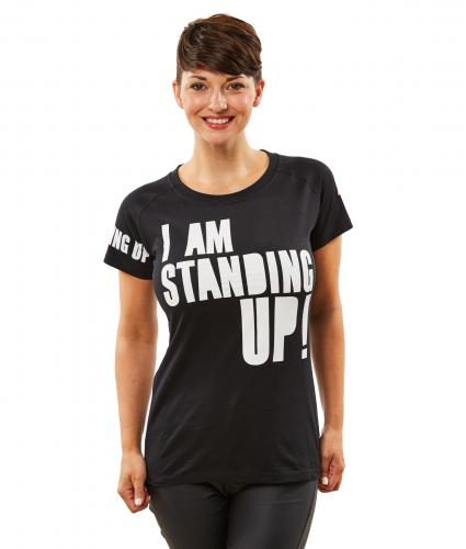 Women's Black Henry Holland T-Shirt