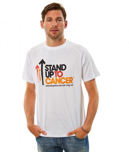 Mens White Full Logo T-Shirt