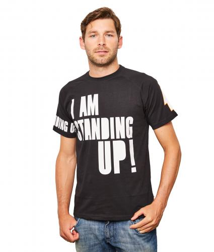 Men's Black Henry Holland T-Shirt