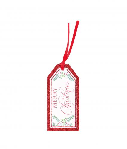 Tartan and Holly Gift Tags, Pack of 6