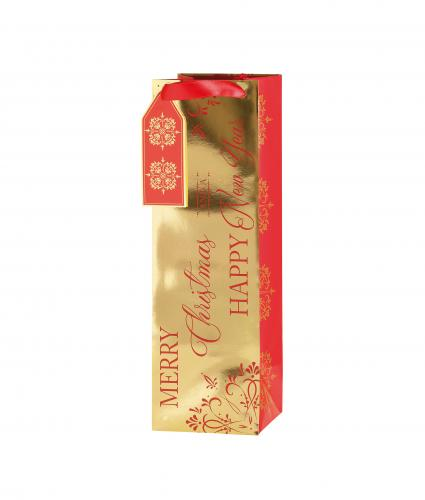 Rich Traditions Bottle Gift Bag