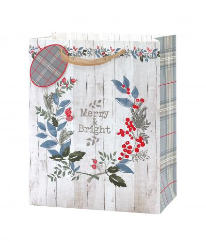 Contemporary Foliage Large Gift Bag