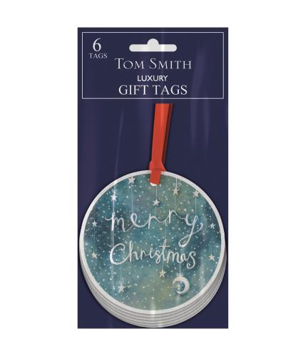 Tom Smith Santa & Friends Festive Wishes Gift Tags