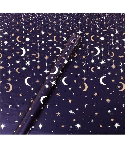 Tom Smith Midnight Stars Wrapping Paper