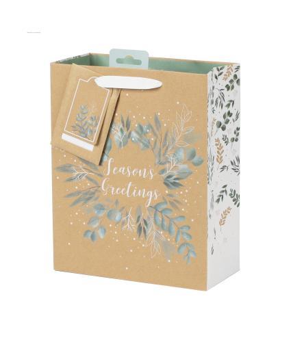 Tom Smith Woodland Wonder Luxury Gift Bag - Medium