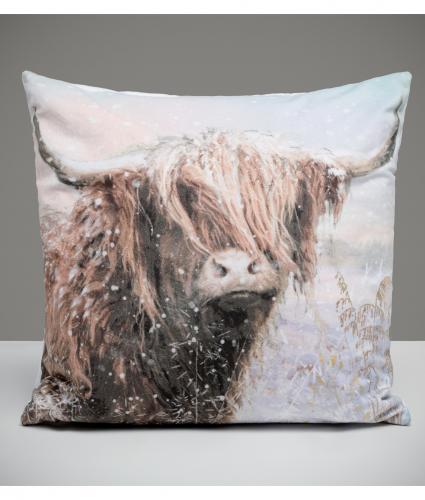 Archie the Highland Cow Cushion