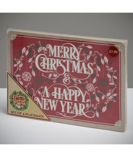 Christmas Placemats, Set of 4