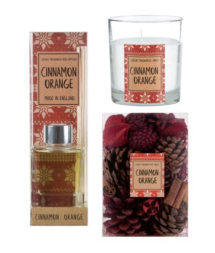 Cinnamon & Orange Fragrance Gift Set