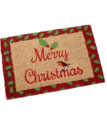 Merry Christmas Door Mat