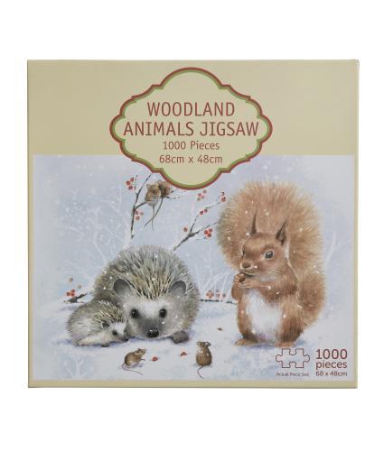 Woodland 1000 Piece Jigsaw Puzzle
