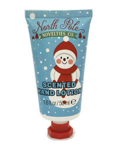 Novelty Scented Hand Lotion - Snowman