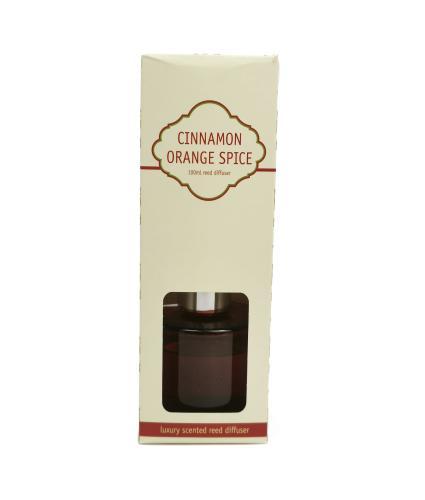 Cinnamon Orange Spice Reed Fragrance Diffuser 100ml