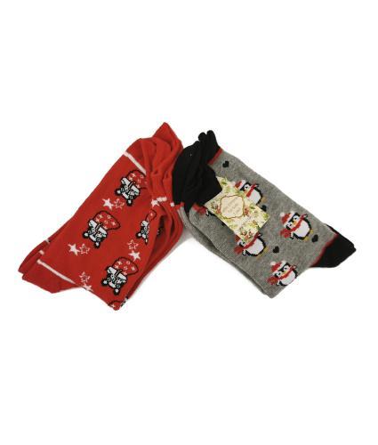 Christmas Socks - Ladies Pack of 2