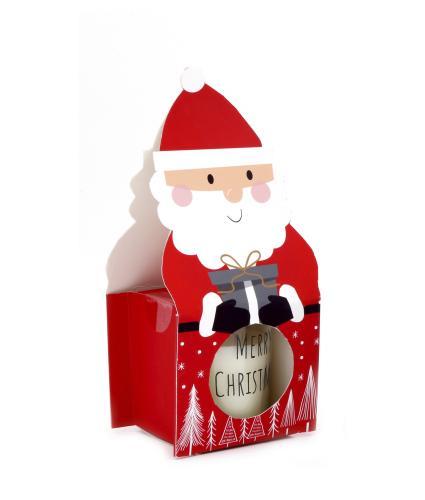 Santa Apple & Cinnamon Scented Candle Pot