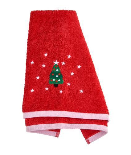 Christmas Tree Hand Towel