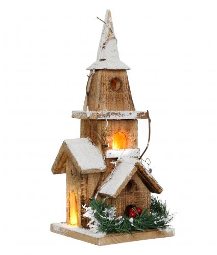 wooden church cancer research uk christmas gift