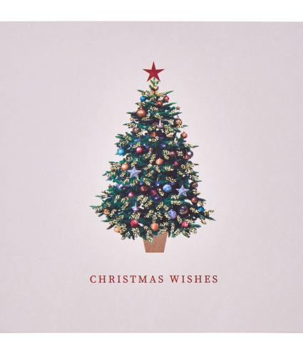 Dainty Christmas Tree Christmas Cards - Pack of 20