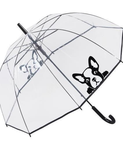 French Bull Dog Dome Umbrella