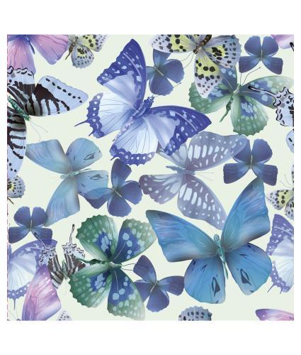 Beautiful Blue Butterflies Greetings Card