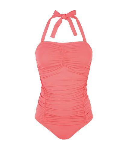 Amoena Jacquie Pocketed Swimsuit in Flamingo