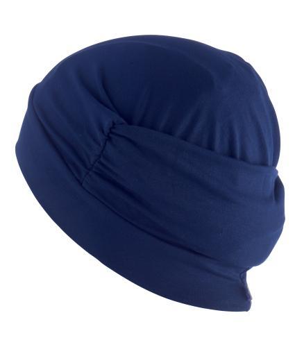 Hipheadwear Turban Cap in Navy
