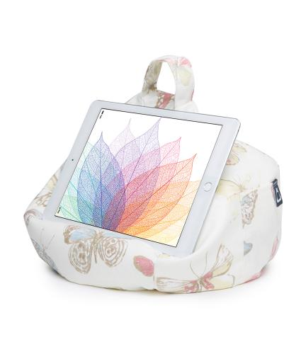 iBeani Butterfly Cream Tablet Bean Bag Stand