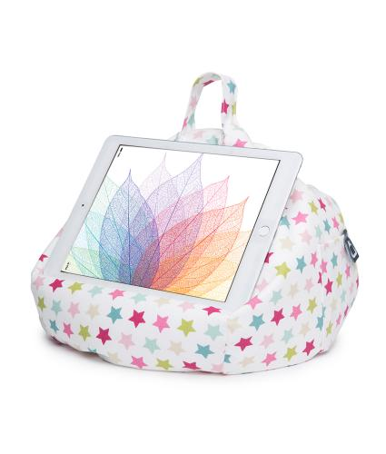 iBeani Galaxy Pink Tablet Bean Bag Stand