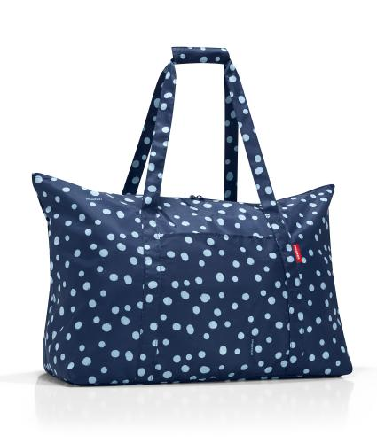 Reisenthel Compact Travel Holdall in Navy Spotted